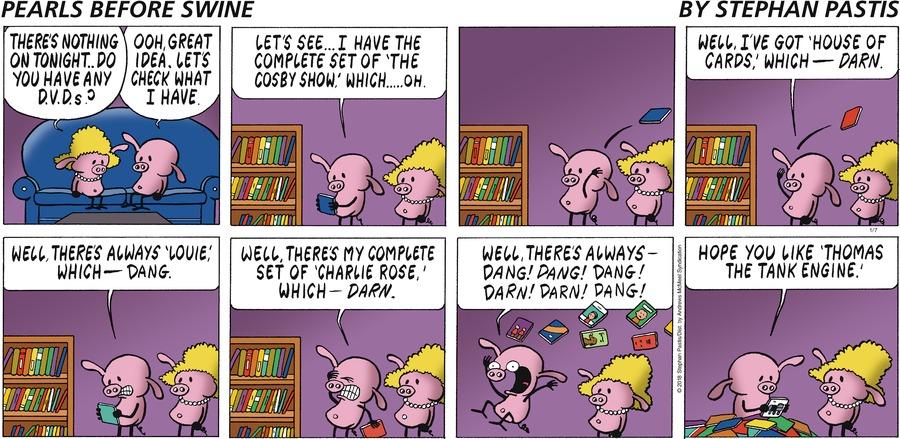 Pearls Before Swine for Jan 7, 2018 Comic Strip