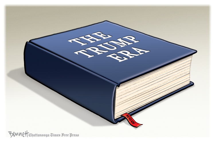 Clay Bennett by Clay Bennett on Sun, 11 Oct 2020
