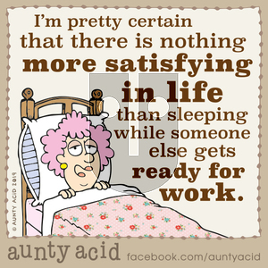 Aunty Acid - Wednesday December 11, 2019 Comic Strip