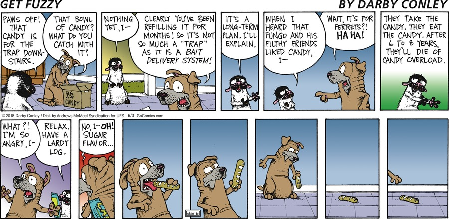 Get Fuzzy Comic Strip for June 03, 2018
