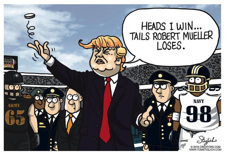 Tom Stiglich Comic Strip for December 10, 2018