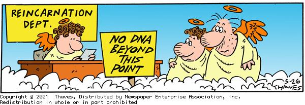 Frank and Ernest Comic Strip for May 26, 2001