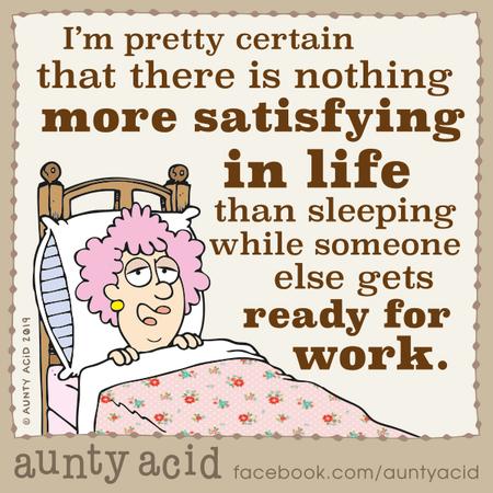 Aunty Acid Comic Strip for December 11, 2019