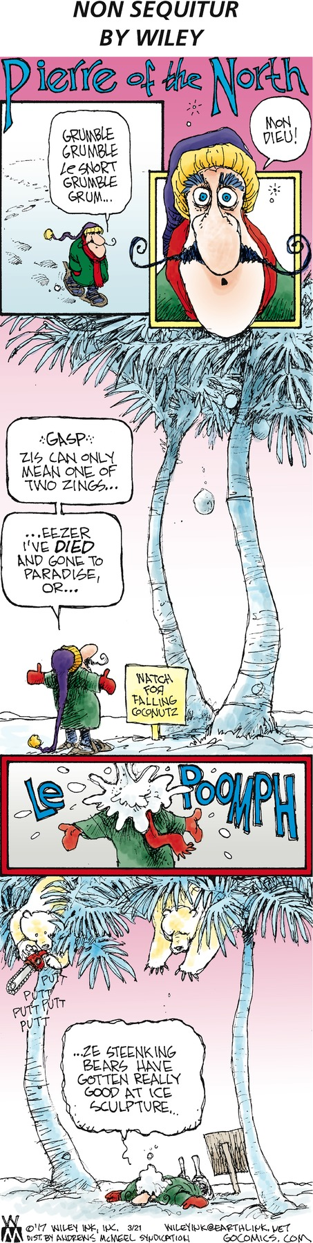 Non Sequitur Comic Strip for March 21, 2021