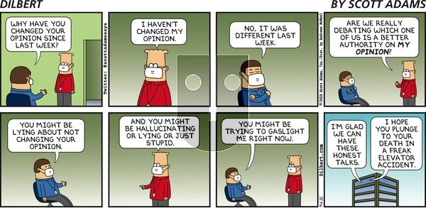 Dilbert on Sunday September 6, 2020 Comic Strip