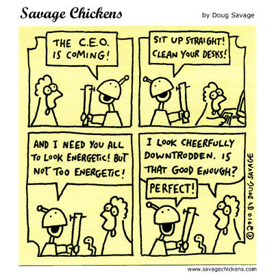 Savage Chickens Comic Strip for February 12, 2014