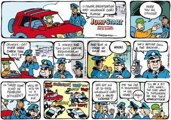 JumpStart on Sunday October 25, 1998 Comic Strip