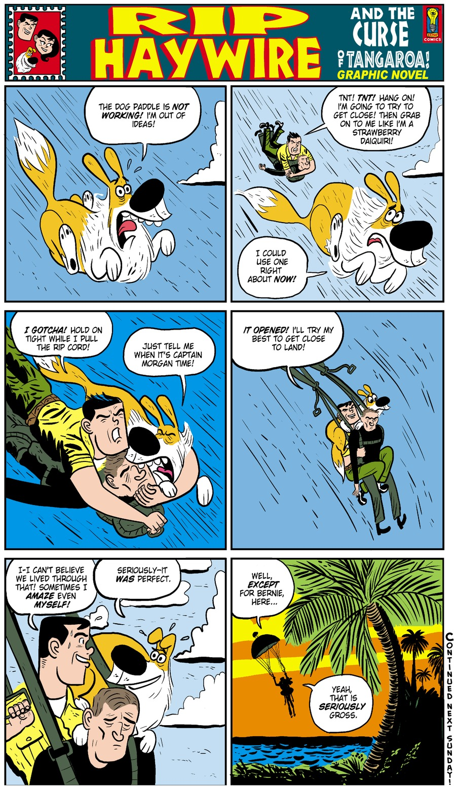Rip Haywire Comic Strip for May 25, 2014