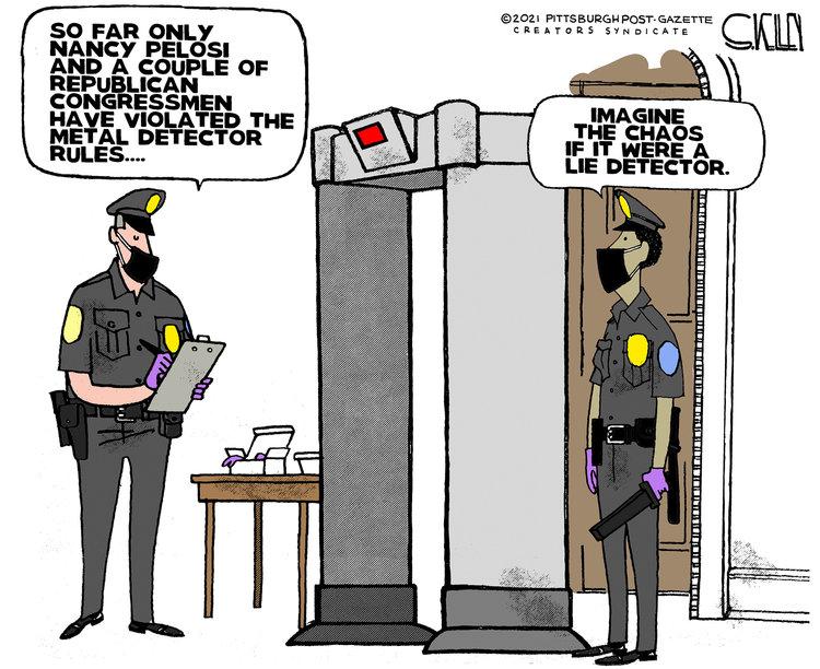Steve Kelley Comic Strip for February 14, 2021