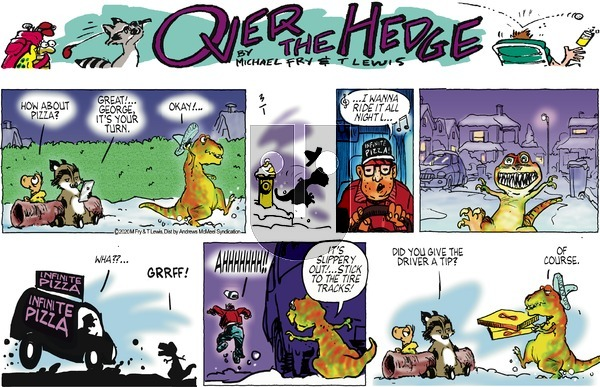 Over the Hedge on Sunday March 1, 2020 Comic Strip
