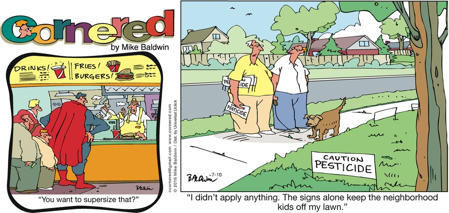 Cornered Comic Strip for July 10, 2016