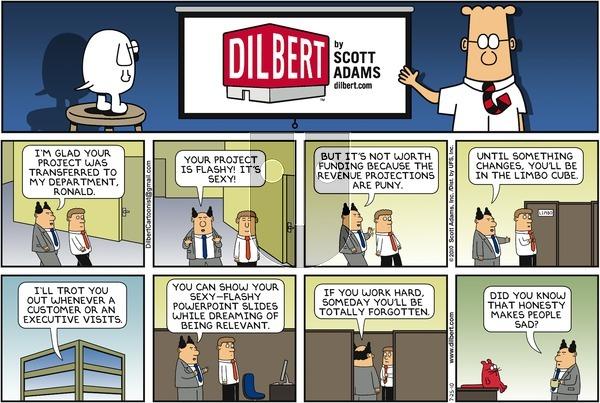 Dilbert - Sunday July 25, 2010 Comic Strip