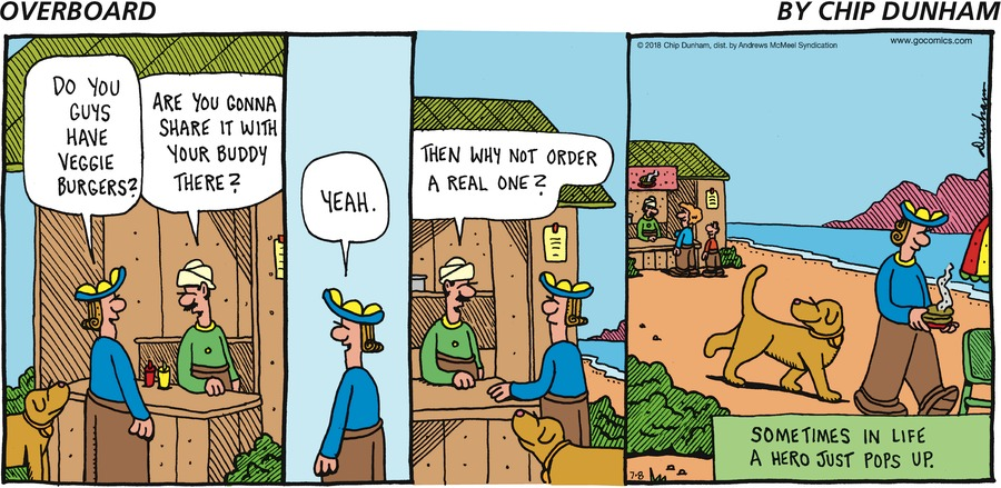 Overboard for Jul 8, 2018 Comic Strip