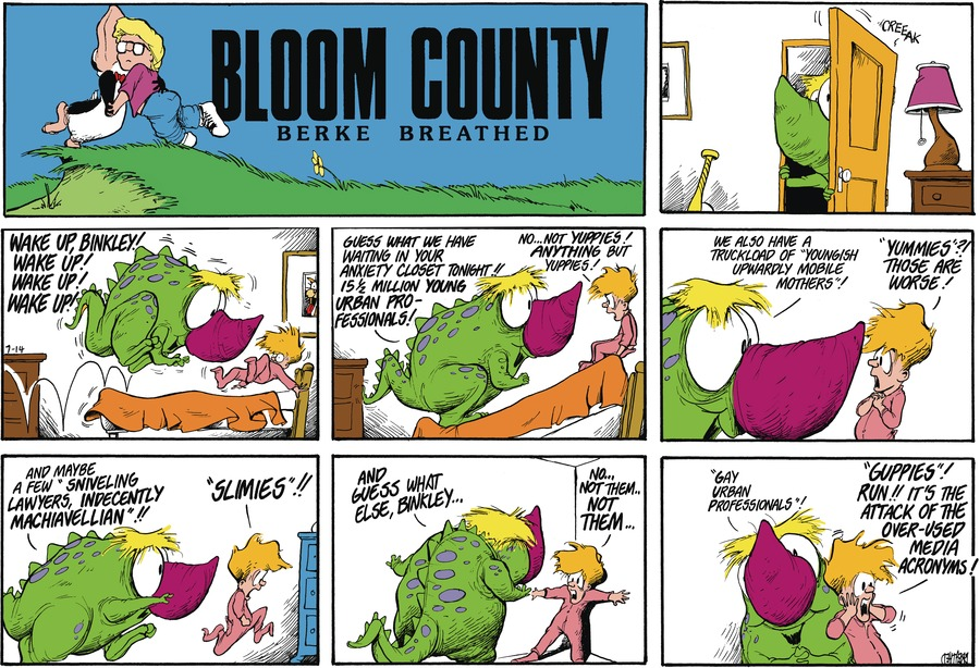 Bloom County Comic Strip for July 16, 2021