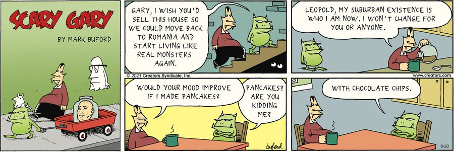 Scary Gary Comic Strip for June 20, 2021