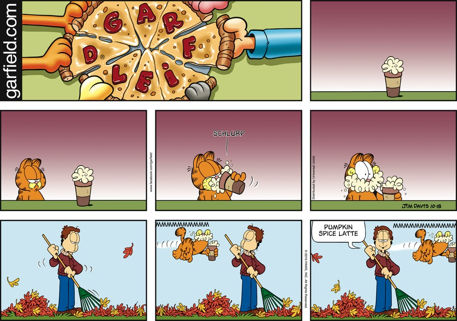 Garfield for Oct 18, 2015 Comic Strip