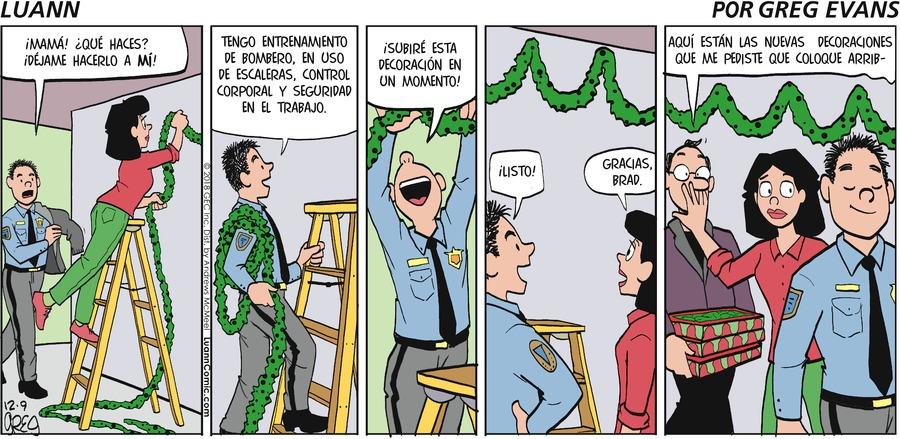 Luann en Español by Greg Evans for December 09, 2018