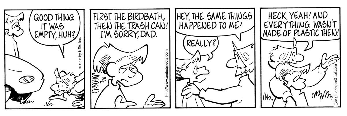 Arlo and Janis for Nov 2, 1996 Comic Strip