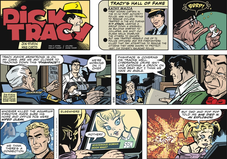 Dick Tracy for Sep 9, 2012 Comic Strip