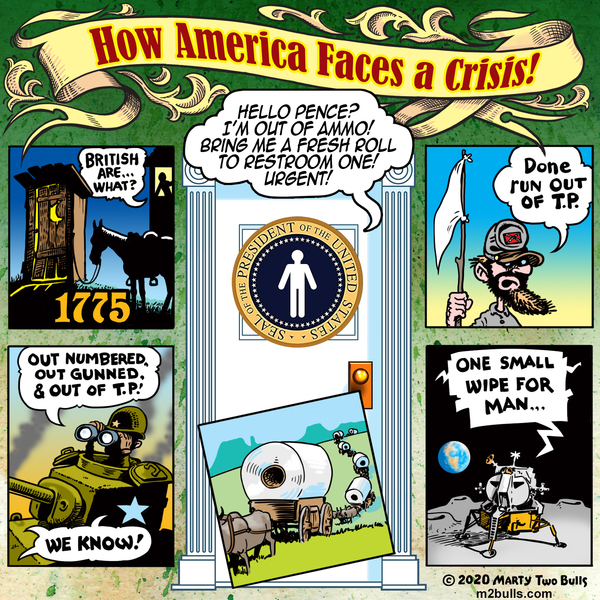 M2Bulls Comic Strip for March 19, 2020