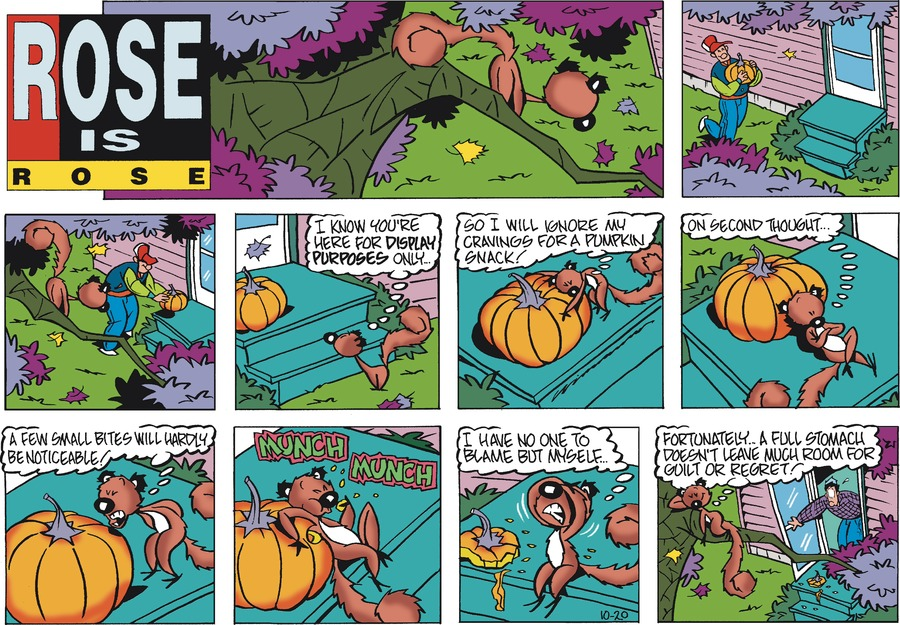 Rose is Rose Comic Strip for October 20, 2019