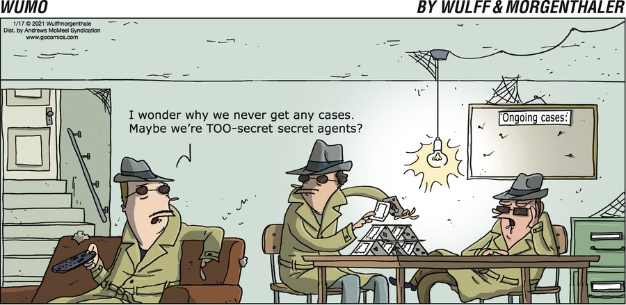 WuMo Comic Strip for January 17, 2021