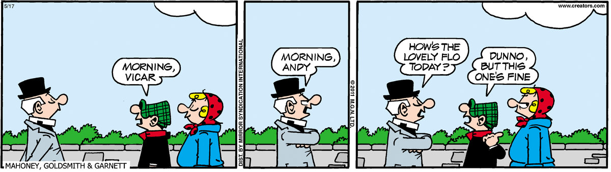 Andy Capp Comic Strip for May 17, 2011