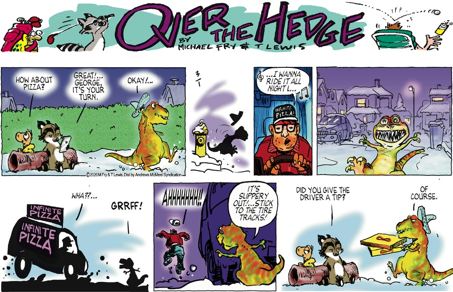 Over the Hedge Comic Strip for March 01, 2020