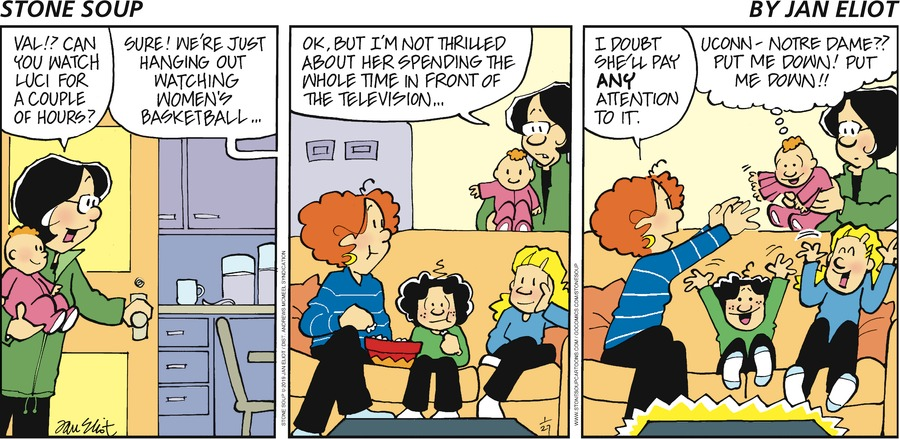 Stone Soup Comic Strip for January 27, 2019