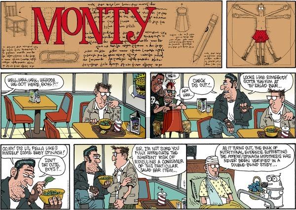 Monty on Sunday June 9, 2013 Comic Strip