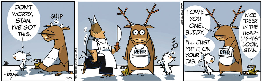 The Barn Comic Strip for December 28, 2018