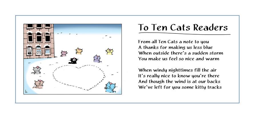 Ten Cats by Graham Harrop on Sun, 07 Feb 2021