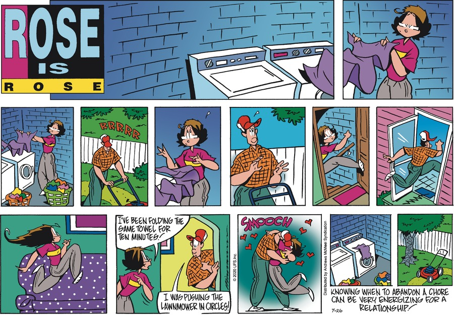 Rose is Rose Comic Strip for July 26, 2020