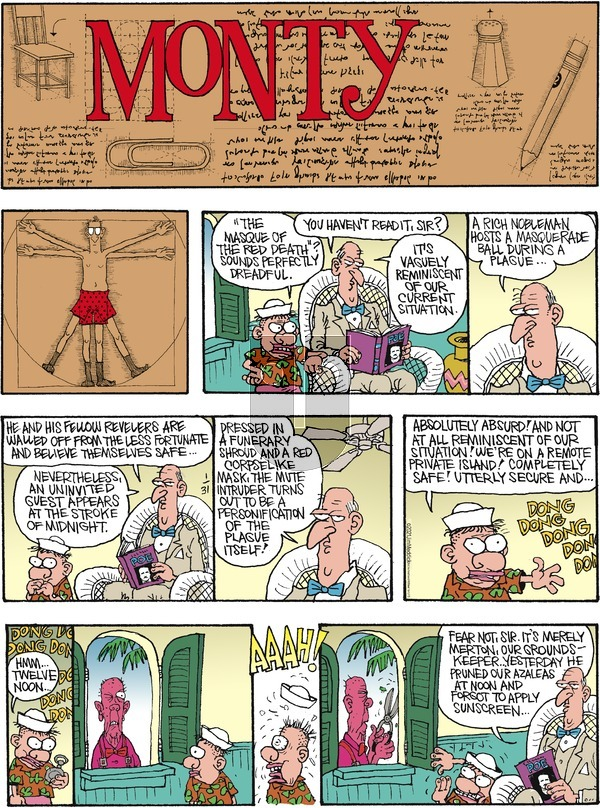 Monty on Sunday January 31, 2021 Comic Strip