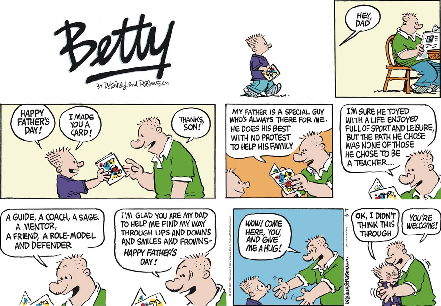 Betty Comic Strip for June 17, 2018