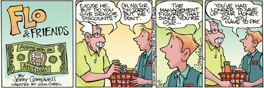 Flo and Friends Comic Strip for May 16, 2021