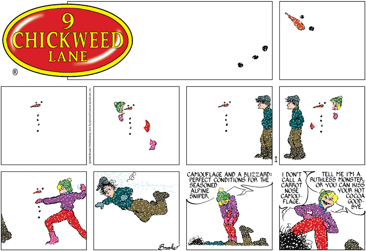 9 Chickweed Lane for Feb 16, 2003 Comic Strip