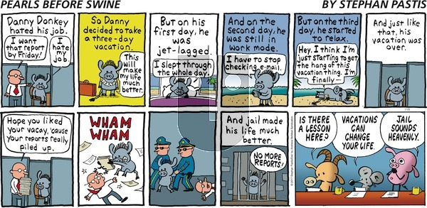 Pearls Before Swine on Sunday November 5, 2017 Comic Strip