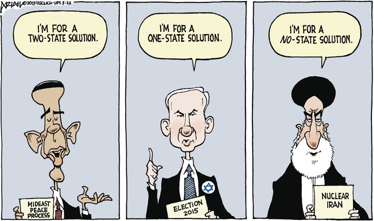 Robert Ariail Comic Strip for March 22, 2015