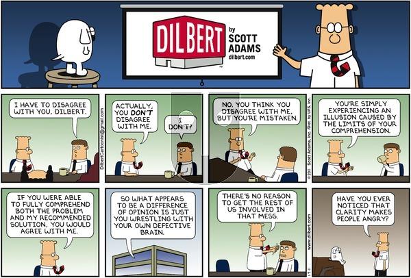 Dilbert - Sunday January 9, 2011 Comic Strip