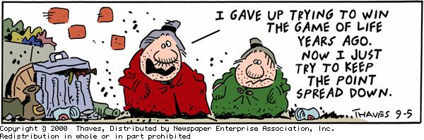 Frank and Ernest Comic Strip for September 05, 2000