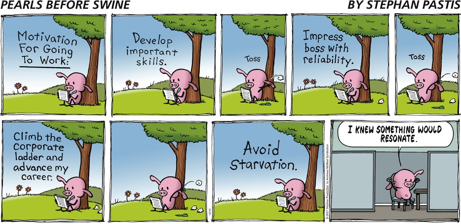 Pearls Before Swine by Stephan Pastis on Sun, 10 Oct 2021