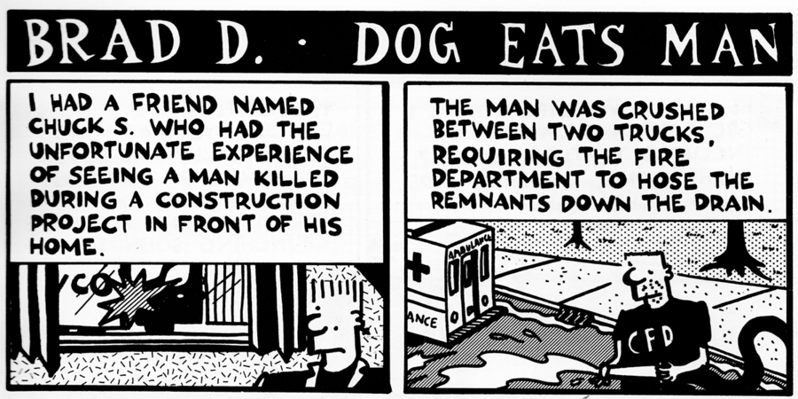 The Worst Thing I've Ever Done for Jul 8, 2013 Comic Strip