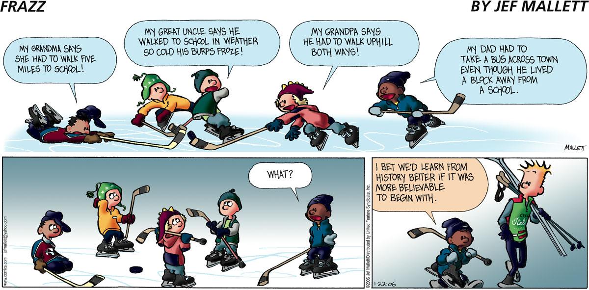 Frazz Comic Strip for January 22, 2006