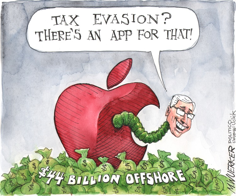 Thomas Cook: Tax evasion? There's an app for that! $44 billion offshore