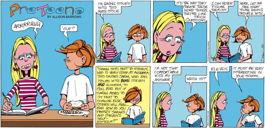 PreTeena Comic Strip for February 15, 2004