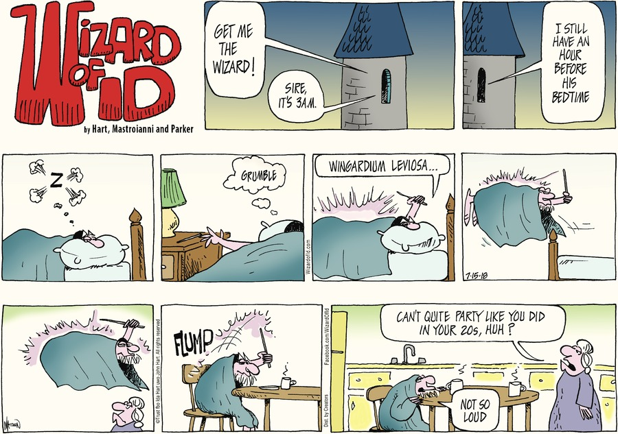 Wizard of Id Comic Strip for July 15, 2018