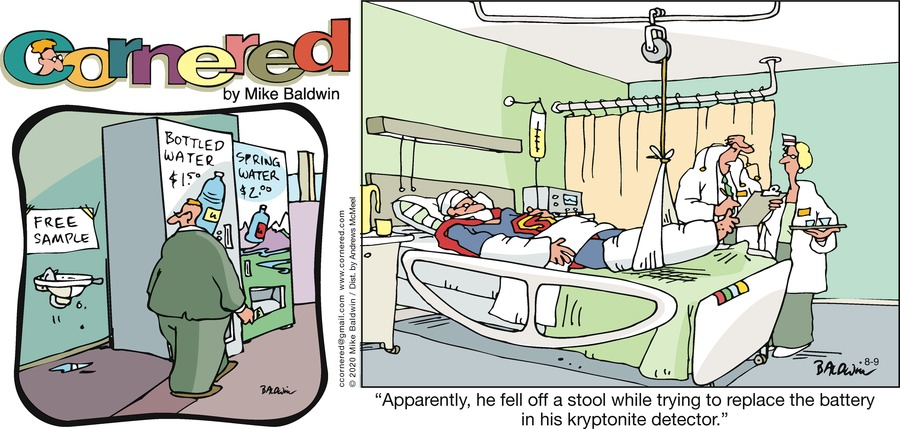 Cornered Comic Strip for August 09, 2020