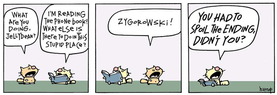 Ten Cats for Jun 15, 2013 Comic Strip