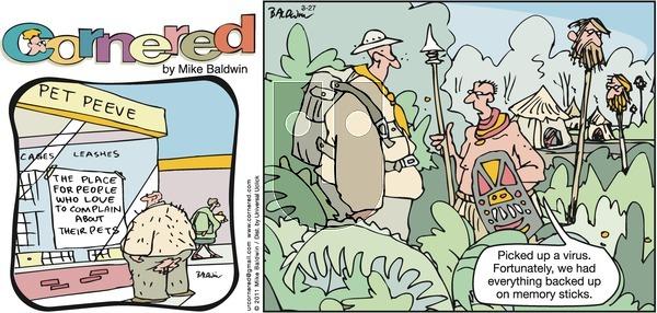 Cornered on Sunday March 27, 2011 Comic Strip